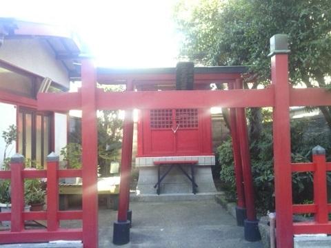 樫森稲荷神社