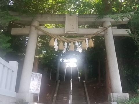 神鳥前川神社鳥居