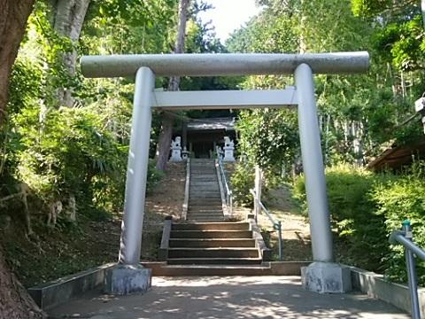 恩田子之辺神社鳥居