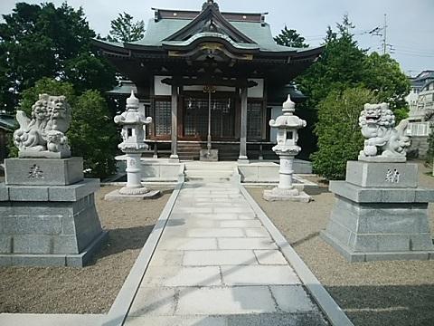 大場諏訪神社狛犬