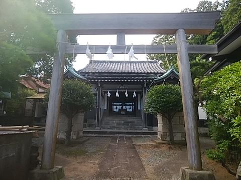 金神社鳥居