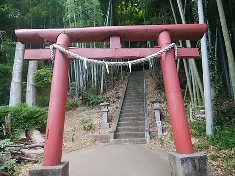 九郎明神社鳥居