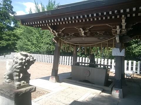高石神社鳥居・狛犬