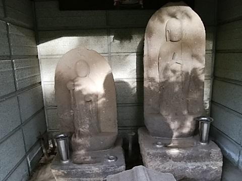 法華寺墓地入口地蔵