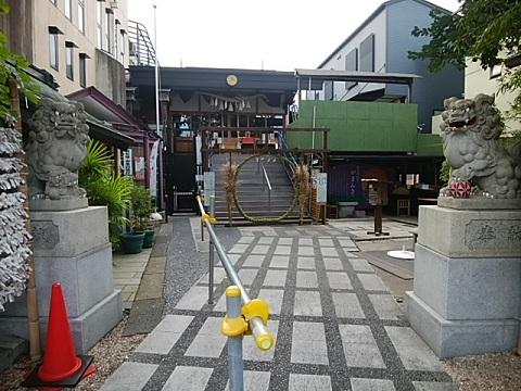 菊名神社狛犬