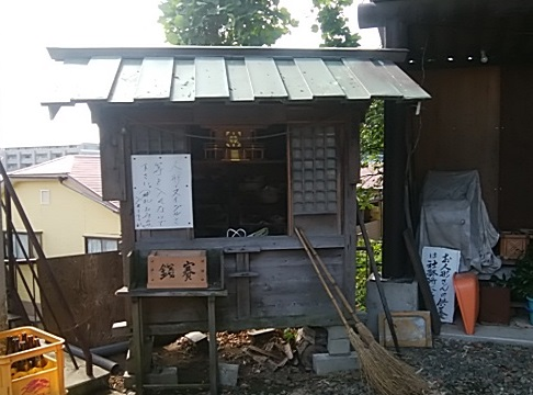 新羽杉山神社境内社