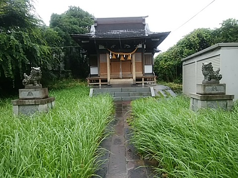 大曽根八幡神社狛犬