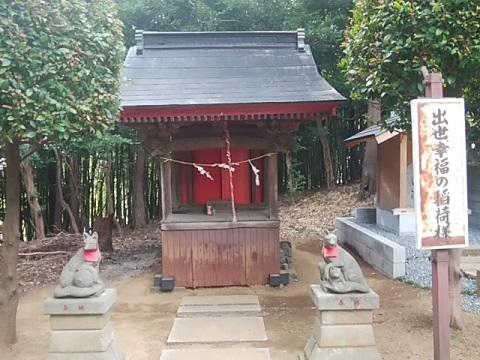 新吉田杉山神社稲荷社