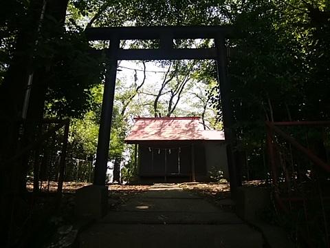 聖徳太子社鳥居