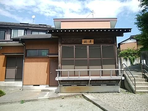 三枚町神明社舞殿