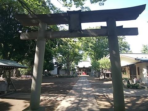 白幡八幡神社鳥居