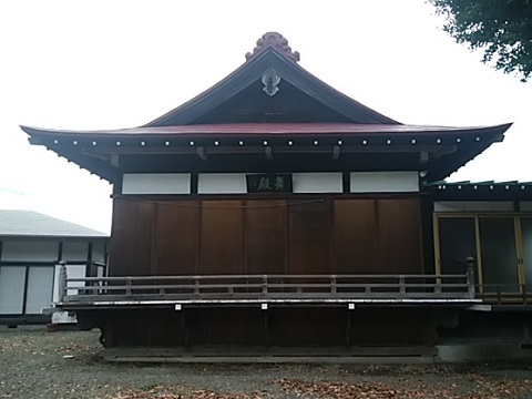 菅田神明社舞殿