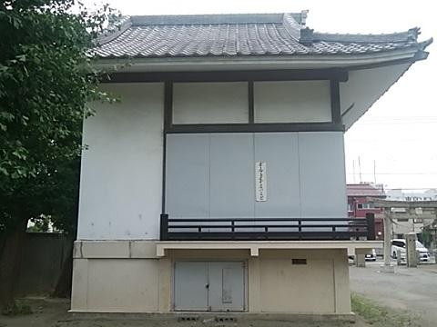 水神社神楽殿