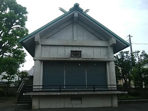大島八幡神社神楽殿