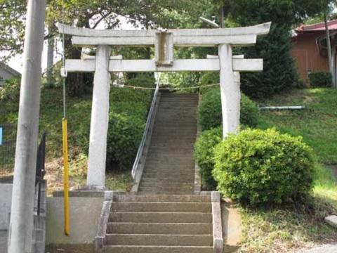 台村八幡神社鳥居