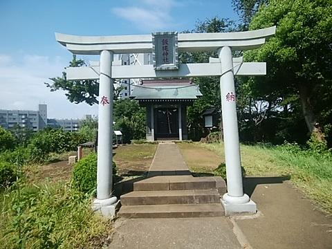 飯縄神社鳥居