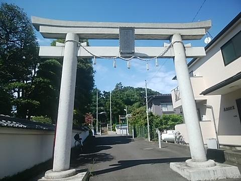 中山杉山神社鳥居