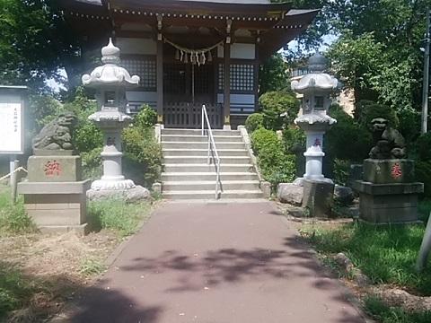 大石神社狛犬