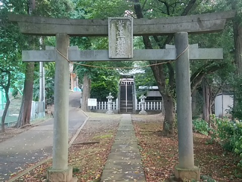 菅生神社鳥居