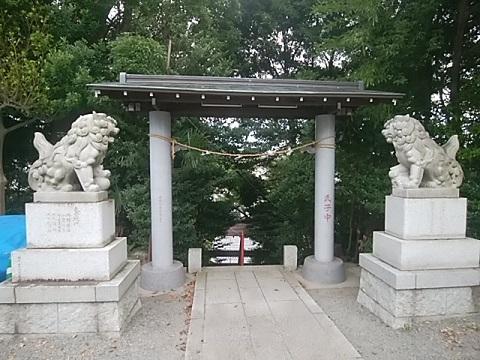 土橋神社狛犬