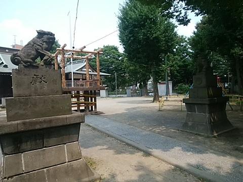今井神社狛犬