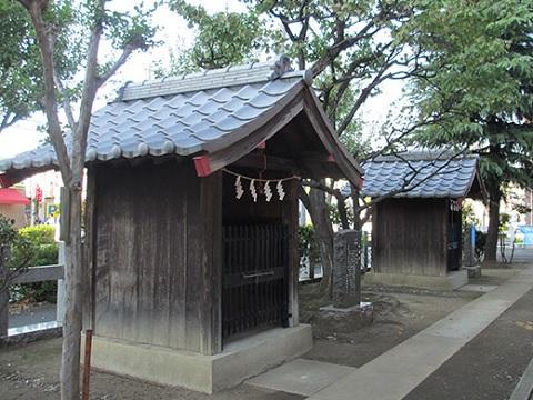 天王社・石神社