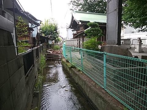 八幡神社用水