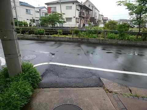 江川の合流点