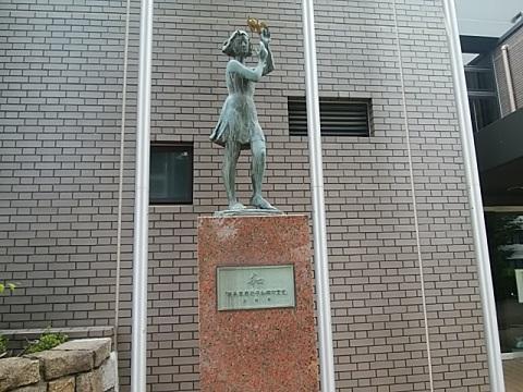 平和公園銅像和