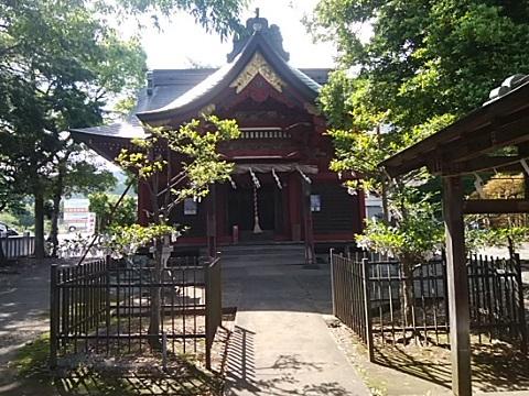 上粕屋比比田神社