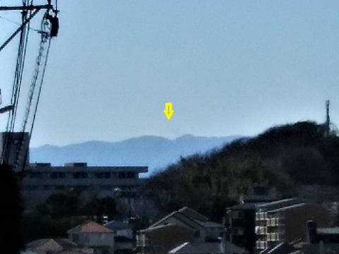 あざみのガーデン付近富士山