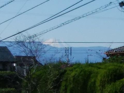 千代ヶ丘1丁目富士山