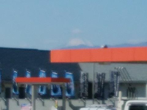 富士見ヶ丘西側信号富士山