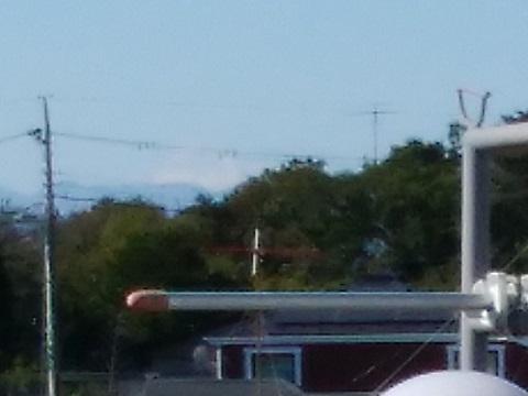 初山1丁目坂富士山