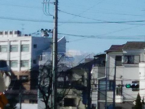 東百合丘3丁目富士山