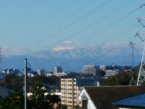 久末小学校富士山