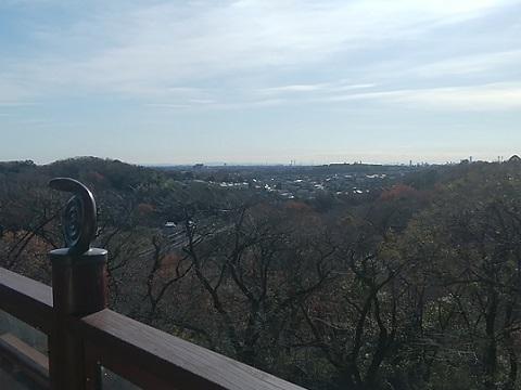 桝形山展望台三浦半島・房総半島
