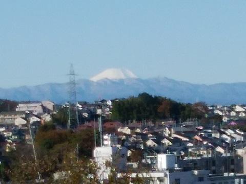 緑が丘霊園富士山