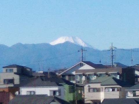 三田4丁目富士山