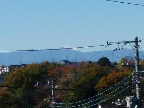 柿生中村通り公園富士山