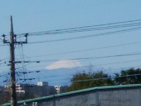 野川本町3丁目の富士山