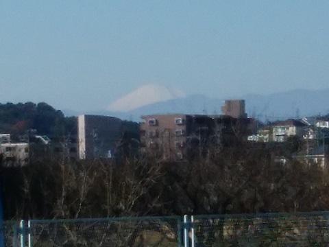 恩田川小山町富士山