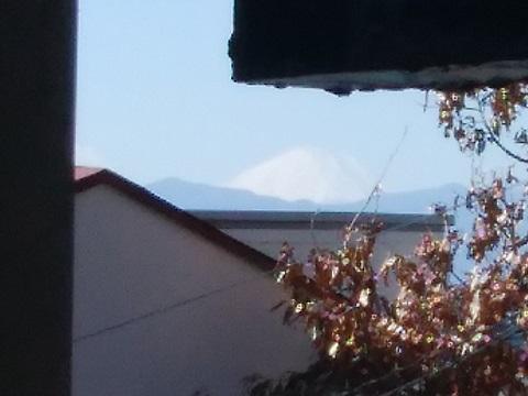 大倉山1丁目富士山