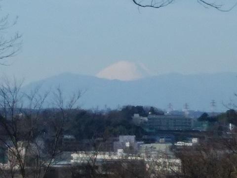 大倉山公園富士山