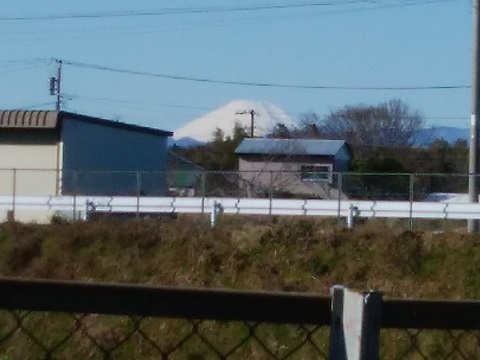 折本貝塚橋富士山