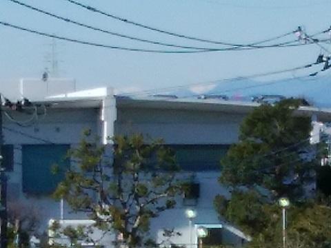 潮見台浄水場南アルプス