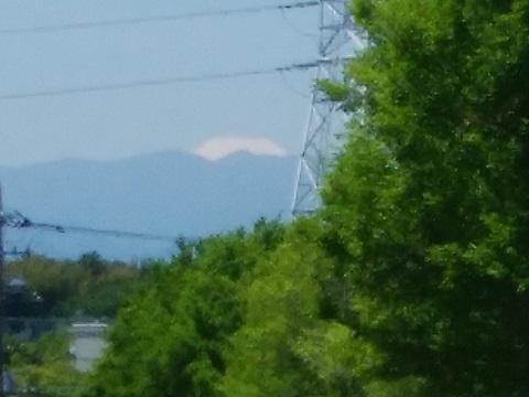 すすき野1丁目富士山