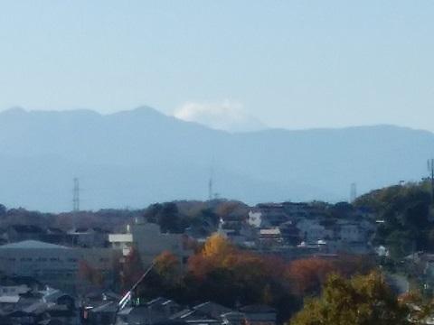 桐光学園小学校付近富士山