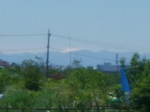 鶴見川鉄町富士山