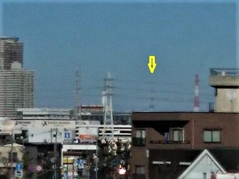 環状2号線梶山歩道橋